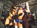 |TOR-03| Cyber Squad Justion ACT3  Erika Shina humiliation shame gym clothes featured actress-27